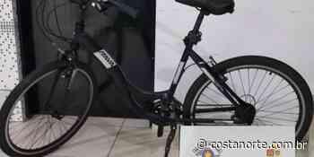 Policiais da Rocam recuperam bicicleta furtada na Barra Velha em Ilhabela - Jornal Costa Norte
