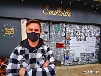 Fontainebleau. Commerce fermé : son coup de gueule s'affiche en vitrine - La République de Seine-et-Marne