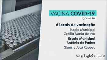 Igarassu começa a vacinar idosos entre 65 e 69 anos contra Covid-19 e amplia locais de imunização - G1