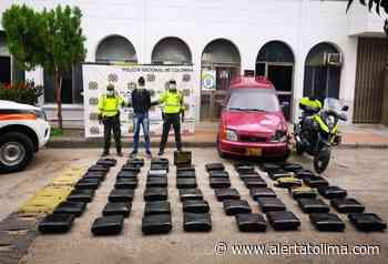 ¡Vuelve y juega! Incautan 256 kilos de marihuana en vías del Guamo - Alerta Tolima