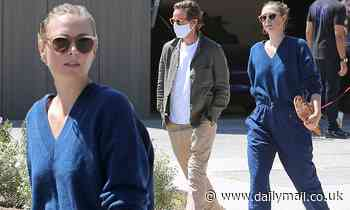 Maria Sharapova dons $860 Bassike ensemble to inspect new house with fiancé Alexander Gilkes - Daily Mail