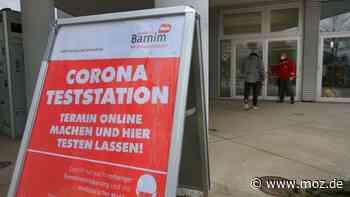 Corona im Barnim: Elf Corona-Teststationen zwischen Ahrensfelde und Lunow - moz.de