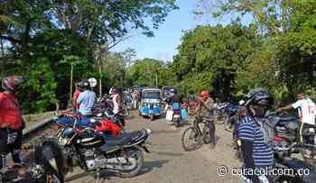 Bloqueada la vía San Onofre – Cartagena por protesta en María La Baja - Caracol Radio