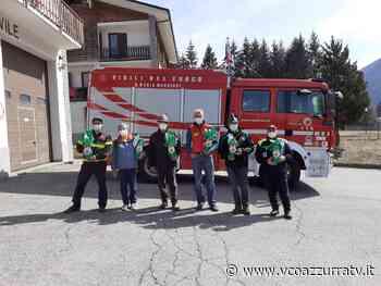 Uova di Pasqua dagli Alpini vigezzini ai sanitari dell'ospedale di Domodossola - Azzurra TV