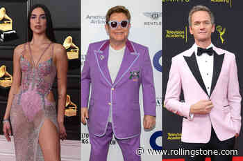 Dua Lipa, Neil Patrick Harris Tapped for Elton John's AIDS Foundation Oscar Pre-Party - Rolling Stone