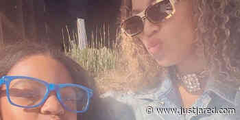 Beyonce Shares Rare Photos With the Kids on Social Media!