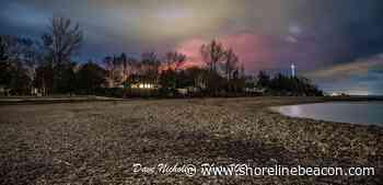 A red glow in Saugeen Shores - Shoreline Beacon