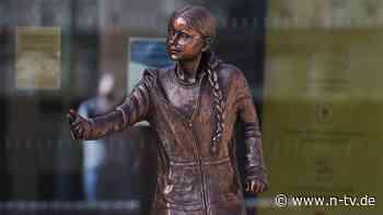 Studierende entsetzt: Englische Uni enthüllt erste Thunberg-Statue