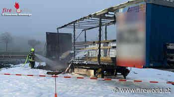 D: Explodierende Spraydosen bei Lkw-Brand in Altenberge - Fireworld.at
