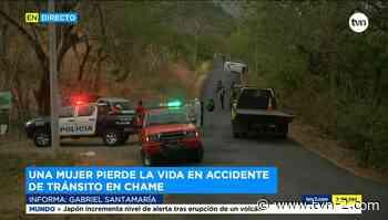 Una mujer muere en accidente vehicular en Chame - TVN Panamá