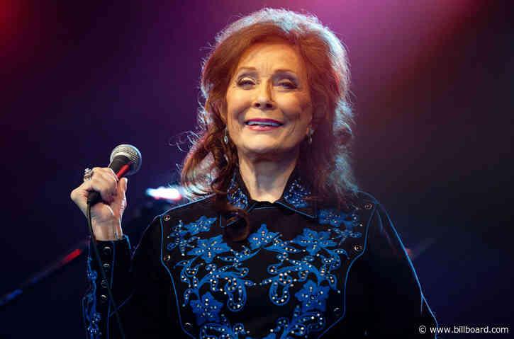 Loretta Lynn's 'Still Woman Enough' Debuts in Top Country Albums Top 10