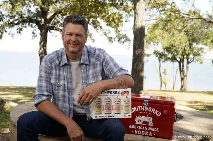 Cheers to Blake Shelton's New Smithworks Hard Seltzer Lemonade