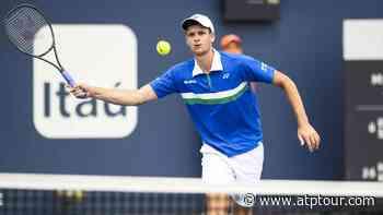 Hubert Hurkacz Downs Denis Shapovalov, Milos Raonic Next Up In Miami - ATP Tour