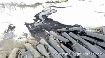 Feb 2019: Drone footage captures extent of oil spill at St. Lazare derailment - Winnipeg Free Press