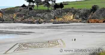 Un nouveau mandala plage du Ris - Le Télégramme