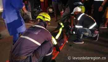 Accidentes de tránsito dejaron dos hombres heridos en Suaza - Huila