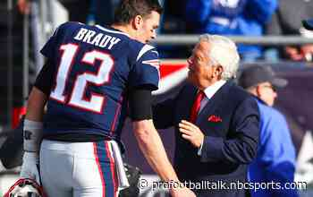 Does Robert Kraft regret letting Tom Brady leave?