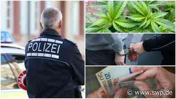 Polizei Filderstadt: Mit mehr als 500 Gramm Marihuana erwischt - Zwei Männer in Haft - SWP