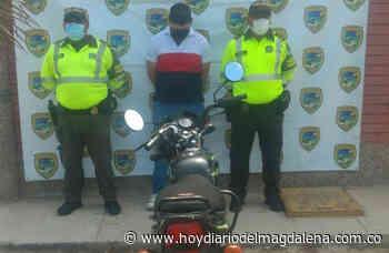 En Puebloviejo: Policía lo capturó por presentar licencia de conducir falsa - HOY DIARIO DEL MAGDALENA