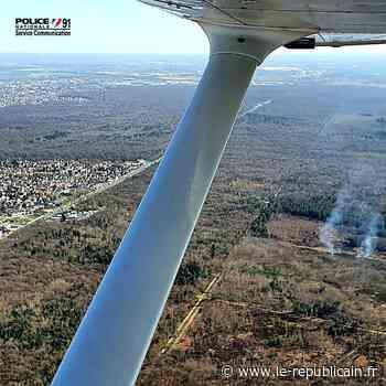 Essonne : feu dans la forêt de Sénart à Montgeron - Le Républicain de l'Essonne