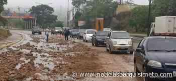 ¡Alerta! Deslizamiento de sedimentos afectan Av. Intercomunal Barquisimeto-Cabudare - Noticias Barquisimeto