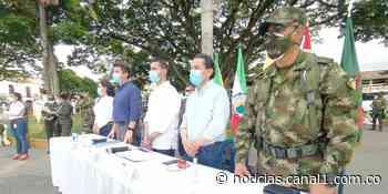 """""""Nuestra meta este año es erradicar manualmente"""": ministro de Defensa desde Corinto, Cauca - Canal 1"""