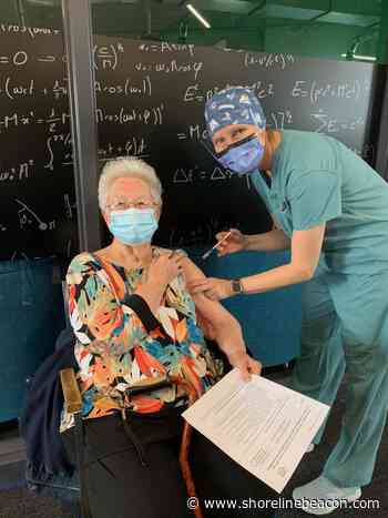 Local seniors vaccinated at Port Elgin COVID-19 clinic - Shoreline Beacon