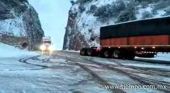Abre carretera Janos-Agua Prieta por completo tras nevadas - El Tiempo de México