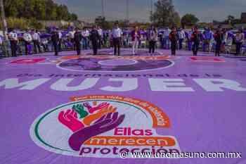 En Ixtapaluca, Edomex; Maricela Serrano entrega alarmas vecinales por seguridad a mujeres. - UnomásUno