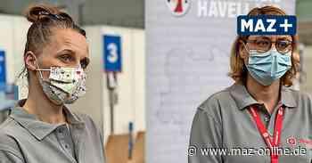 Impfzentrum Falkensee: Bereit für den anstehenden Marathon - Märkische Allgemeine Zeitung