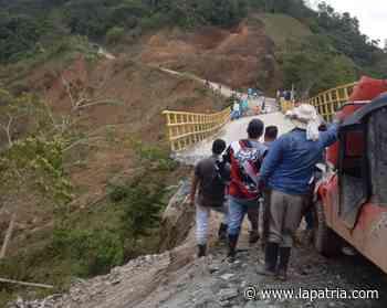 Siguen sin demoler puente en Partidas (Aranzazu) - La Patria.com