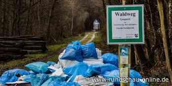 Wehrbusch in Swisttal: Säckeweise Müll im Naturschutzgebiet abgeladen - Kölnische Rundschau