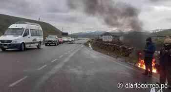 Transportistas radicalizan medida de protesta en Macusani - Diario Correo