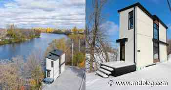 This Extra-Large Tiny House On The Water Near Montreal Is For Sale For $349,900 (PHOTOS) - MTL Blog
