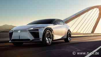 Elektrisch aus einem Guss: LF-Z Concept zeigt Zukunft von Lexus