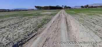 El camino entre Santa Eulalia y la estación AVE, otra vez dañado - El Periódico de Villena