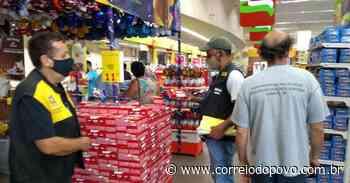 Procon e Vigilância Sanitária de Alegrete desenvolvem Operação de Páscoa - Jornal Correio do Povo