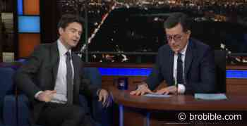 Jason Bateman Admits He Crapped His Pants In The 'Late Show' Dressing Room After Stephen Colbert Accuses Him Of Being A 'Hostile' Guest - BroBible