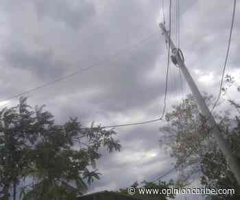 Habitantes de Ariguaní solicitan intervención urgente por cables de alta tensión caídos - Opinion Caribe