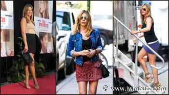 Mini Skirt Looks Of Jennifer Aniston That Made Fans Go Crazy - IWMBuzz