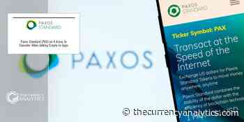 Paxos Standard (PAX) on 4 Areas to Consider When Adding Crypto to Apps - The Cryptocurrency Analytics