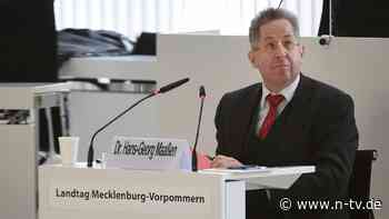 Wahlkreis von Mark Hauptmann: Maaßen will für Thüringer CDU in den Bundestag