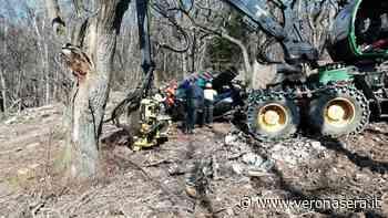 Incidente con il trattore a San Zeno di Montagna (2)-2 - Verona Sera