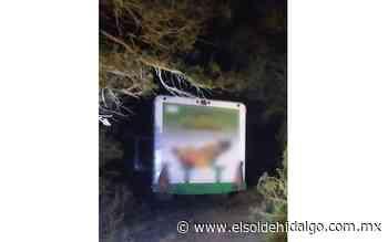 Policías municipales de Apan localizan camión repartidor de refrescos robado - El Sol de Hidalgo