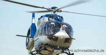 Lauchheim: Polizei fahndet mit Hubschrauber nach Dieben - Schwäbische