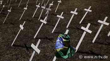 Hohe Corona-Zahlen in Brasilien: Der Druck auf Bolsonaro wächst