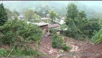 Deslizamiento de un cerro sepulta 10 viviendas en caserío Lucero de Soritor - Diario Voces