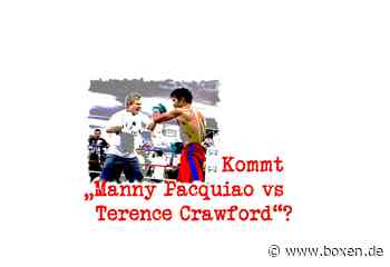 """Kommt """"Manny Pacquiao vs Terence Crawford""""? - Boxen.de"""