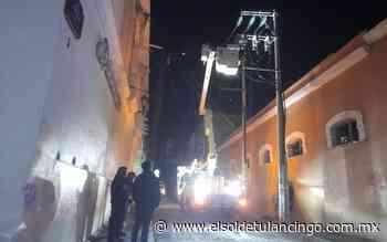 Restablecen la luz en la calle Abasolo - El Sol de Tulancingo