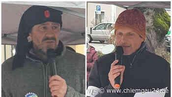 Demonstration mit rund 80 Teilnehmern gegen die Corona-Politik in Grassau - chiemgau24.de